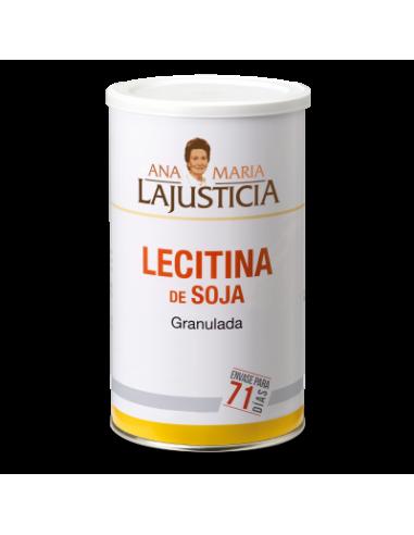 LECITINA DE SOJA 550g NO GMO - GRANULADA