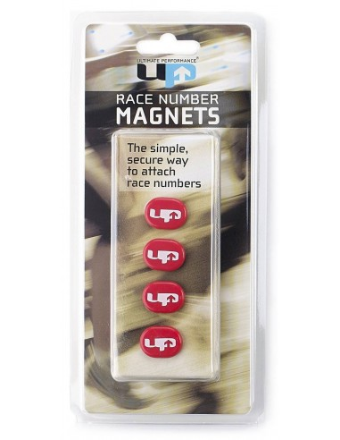 MAGNETIC RACE NUMBER HOLDERS RED/...