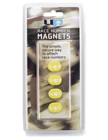 MAGNETIC RACE NUMBER HOLDERS YELLOW/...