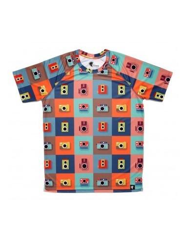 Camiseta M/C hombre Color Cameras