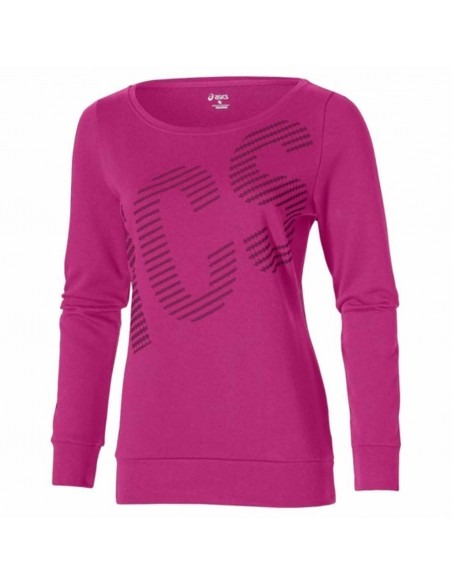 SUDADERA ASICS GRAPHIC CREW WOMEN