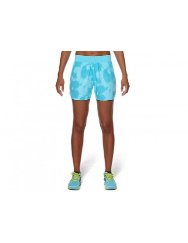 SHORT ASICS FUZEX 5.5IN PRINTED WOMEN
