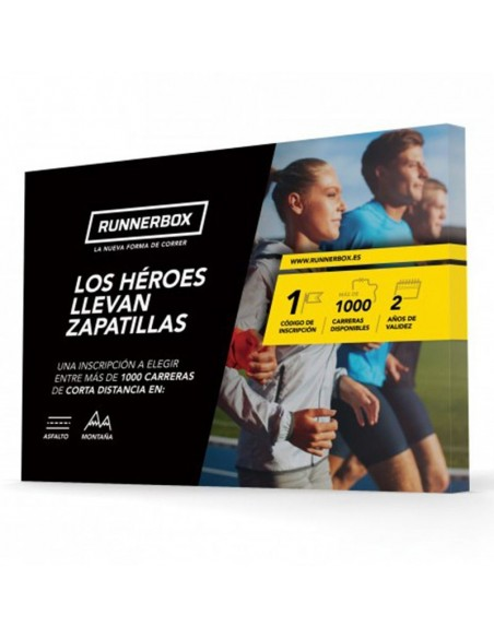 Experiencia RunnerBox: Los Héroes Llevan Zapatillas