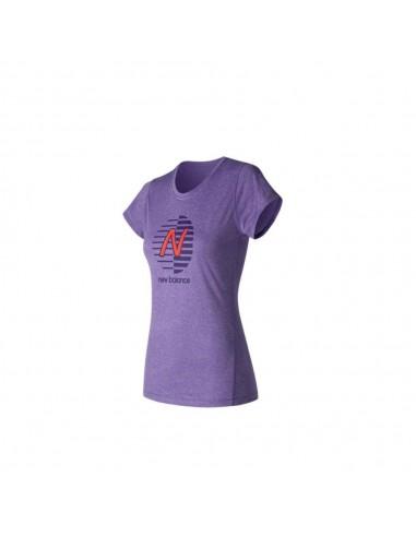 Camiseta New Balance Heathered Graphic