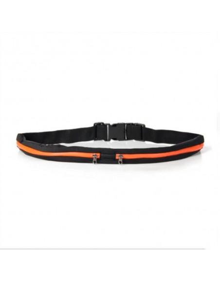 Cinturón Riñonera elástico doble