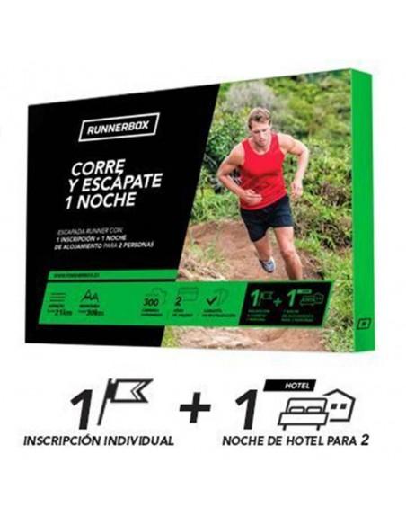 Experiencia RunnerBox: Corre y escápate 1noche