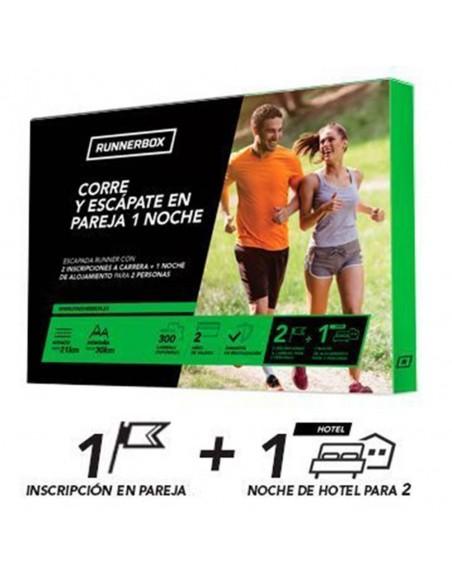 Experiencia RunnerBox: Corre y escápate en pareja 1 noche