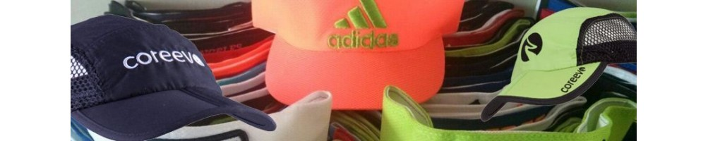 Gorras deportivas - viseras